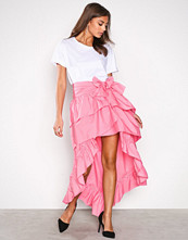 NLY Trend Rosa Frill High Low Skirt