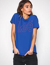 Lee Jeans Indigo Lee Outline Logo Tee