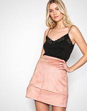 Pieces Rosa Pcamelia Hw Faux Suede Skirt