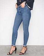 New Look Blue Dahlia High Waist Skinny Jeans