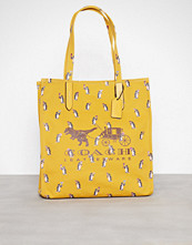 Coach Yellow Rexy And Carriage Tote