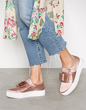 NLY Shoes Dusty Pink Bow Sneaker