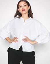 Pieces Hvit Pcdalua 3/4 Shirt Ff Pb