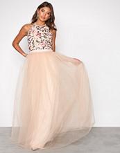 TFNC Peach Cydney Maxi Dress