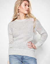 New Look Pale Grey Longline Jumper