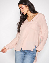 Selected Femme Lys rosa Slfdynella Ls Shirt Noos