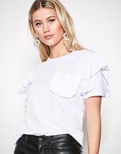 Glamorous White Frill Top