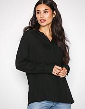 Selected Femme Svart Slfdamina Ls Shirt Noos