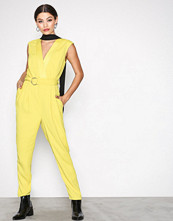 River Island Yellow Tailored Jumpsuit