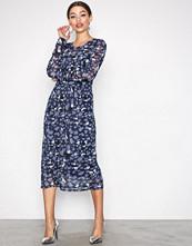 Object Collectors Item Mørk blå Objmarianna L/S Long Dress a Ny Div