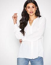 Selected Femme Hvit Slfdamina Ls Shirt Noos