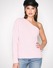 NLY Trend Lys rosa One Shoulder Knit