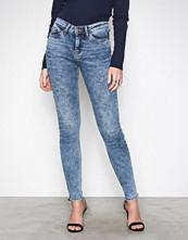Vero Moda Blå Vmseven Nw Ss Piping Jeans AM691 No
