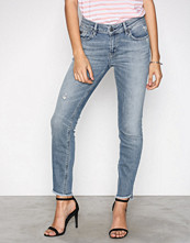 Odd Molly Mid Blue Stretch It Cropped Jeans
