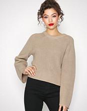 Calvin Klein Beige Suvi Crew Neck Sweater