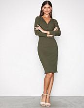 Polo Ralph Lauren Green Long Sleeve Drop Waist Dress