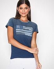 Polo Ralph Lauren Indigo Short Sleeve Flag Tee