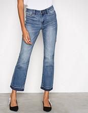 Vero Moda Blå Vmtailor Nw Kick Flare Ankle Jeans