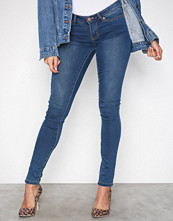 Noisy May Blå Nmeve Lw S.Slim Jeans M.Blue GU501