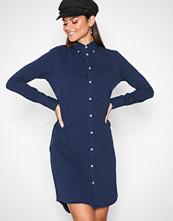 Polo Ralph Lauren Blue Long Sleeve Shirt Dress