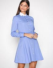 Polo Ralph Lauren Blue Long Sleeve Casual Fit Dress