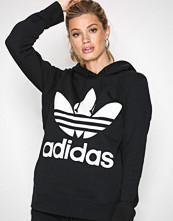 Adidas Originals Svart Trefoil Hoodie