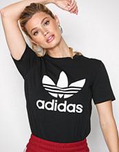 Adidas Originals Svart Trefoil Tee