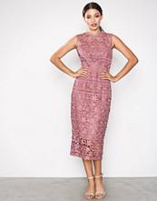 Little Mistress Rosette Crochet Bodycon Dress