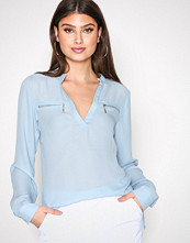 NLY Trend Lys blå Soft Day Blouse