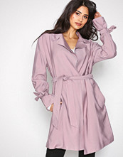 NLY Trend Lys rosa Wrapped Trench Coat