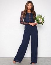 NLY Eve Navy Whenever Jumpsuit