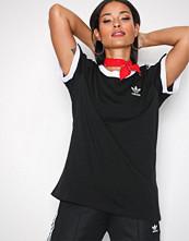 Adidas Originals Svart 3 Stripes Tee