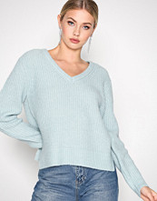 Selected Femme Turkis Sfminty Ls Knit V-Neck