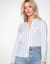 Only onlCANDY L/S Shirt Noos Wvn Hvit