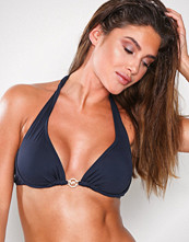 Michael Kors Navy Halter Bikini Top