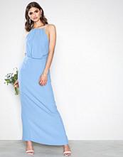 Samsøe & Samsøe Silver/Blue Willow Long Dress