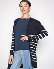Only Mørk blå onlMILA Stripe L/S Long Cardigan Kn