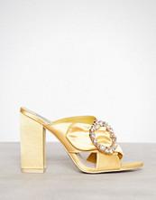 NLY Shoes Gul Satin Embellished Mule