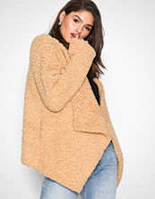 NLY Trend Beige Teddy Soft Jumper