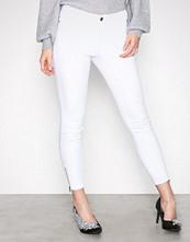 Vero Moda Hvit Vmseven Nw Ss Zip Ankle White VI609