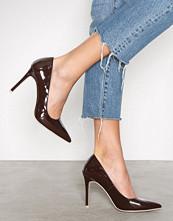 NLY Shoes Dark Brown Slim Pump