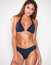Michael Kors Navy Shirred Bikini Bottom