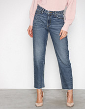Lee Jeans Denim Mom Straight Blue Authent