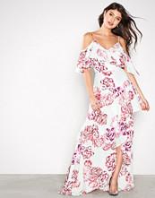 By Malina Mønstret Blanca Silk Dress