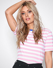 Only Lys lilla onlLIVE Love Trendy Stripe Ss Oneck