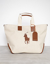 Polo Ralph Lauren Natural Market Tote Large