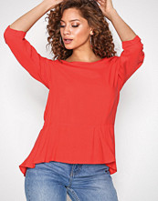 Vero Moda Rød Vmboca Frill 3/4 Top Color