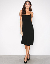 Filippa K Black Jersey Crepe Strap Dress