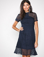 Chi Chi London Navy Maja Dress