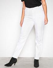 Vila Hvit Vijules 7/8 Girlfriend Jeans